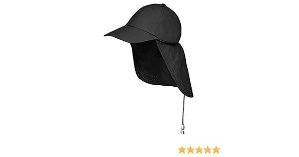 Safari Cap Mütze mit Nackenschutz Tropenhut Angeln Wandern Outdoor Kappe Hat