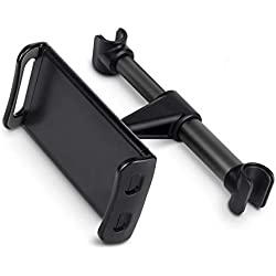 """Type de boucle Support d'appuie-tête pour siège de voiture, largeur max.20cm pour 4-11"""" Tablettes mobiles, support de montage rotatif arbitraire Ergoneer 360 pour socle pour téléphones intelligents"""
