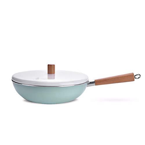 GL-kitchen supplies Kaliber 32 cm Antihaft-Pfanne mit Deckelkocher