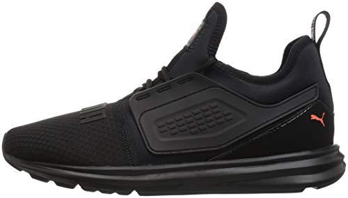 PUMA Unisex-Kids Limitless AC PS Sneaker  Black-Firecracker  11 M US Little Kid