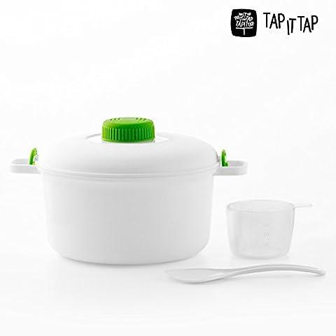 Autocuiseur micro-ondes steamerrice instantcook riz/pâtes/Cocotte rapide