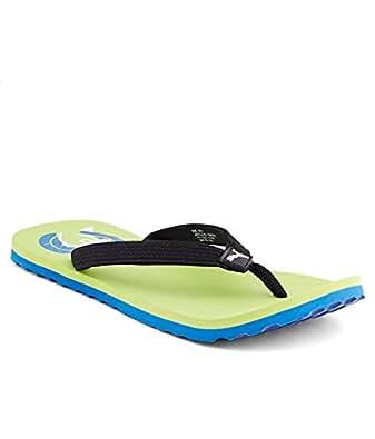 Puma Unisex Green Blue Flip Flop (8 Uk)
