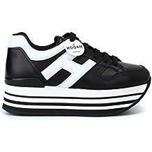 Hogan Sneakers Maxi H222 HXW2830T548HQK0002 Nero Donna 0b2ef354f48