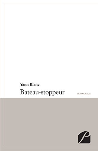 Bateau Stoppeur [Pdf/ePub] eBook