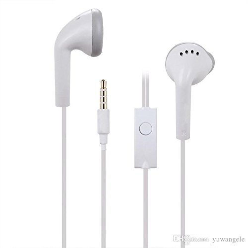 Original Earphone For Samsung and All Others Smart Phones 3.5mm Jack with Mic (3 Months Warranty)