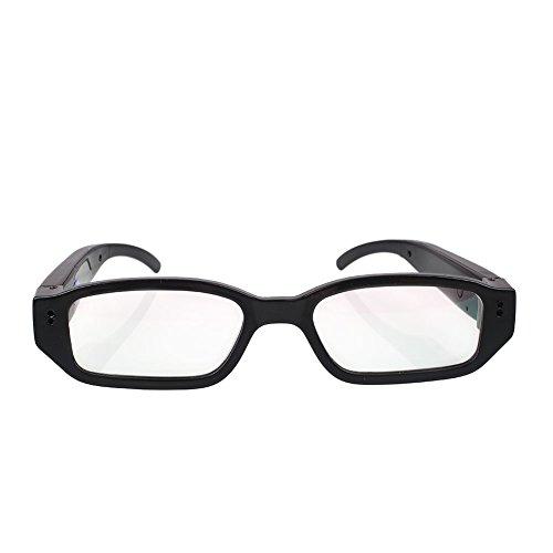 Giantree Brille Kamera, Full HD 1080 P 60 ° hochauflösende Weitwinkel-Objektiv Brillen Camcorder mit Video-Taking Of Brillen Inspektion für Weihnachtsgeschenk
