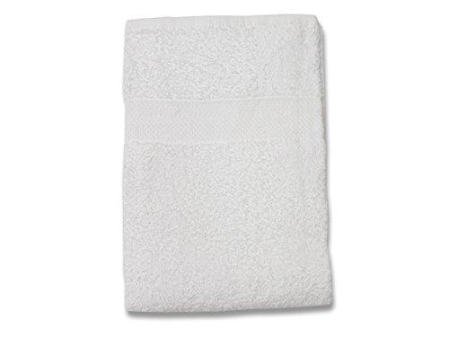 Soleil d'Ocre 441040 Drap de Bain Coton Blanc 70 x 130 cm