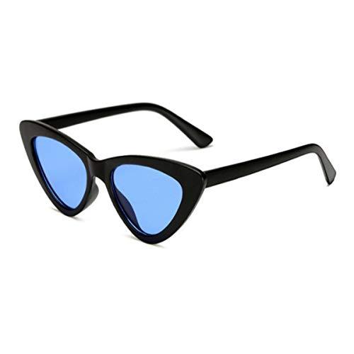 Sport-Sonnenbrillen, Vintage Sonnenbrillen, Small Cateye Triangle Cute Sexy Retro Cat Eye Sunglasses Women Black White Vintage Sun Glasses Oculos De Sol C3