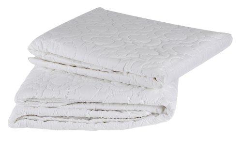Brolly Sheets Matratzenschoner, Einzelbett, Spannbettlaken, gesteppt, wasserdicht (Wasserdichte Twin-sheet)