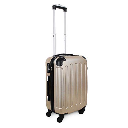 Leogreen - Valise Cabine Taille 51cm, ABS Valise Rigide...