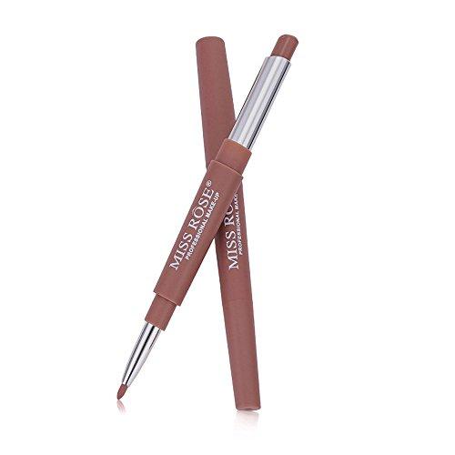 VJGOAL Neue Double End Multifunktions Dauerhafte Lipliner Wasserdicht Lip Liner Stick Bleistift 20 Farbe Lippenstift Lipgloss -