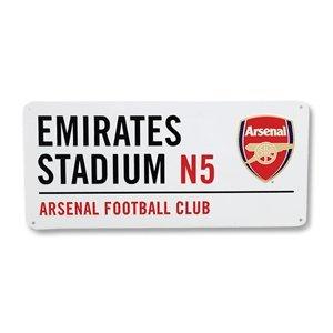 """Arsenal FC. """"Emirates Stadium"""" Metall Straße Unterzeichnen"""