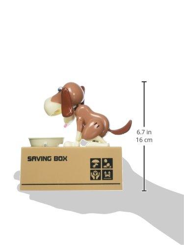 Robotic Coin Munching Toy Money Box Liberty Imports My Dog Piggy Bank