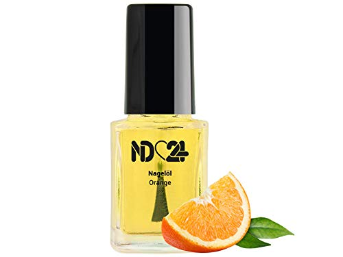 Nagelöl Orange - 12 ml - in der praktischen Pinselflasche - Nagelhaut-Öl Nagelpflege-Öl Nagelhautpflege-Öl