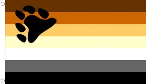 5ft x 3ft (150x 90cm) Regenbogen Gay Pride Bär 100% Polyester Material Flagge Banner Ideal für Pub Club Schule Festival Business Party Dekoration -