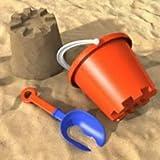 Sabbia naturale da gioco, 25 kg, 0-2 mm di grana, sabbia al quarzo, sabbia decorativa, per bambini, certificata Tüv, alta qua
