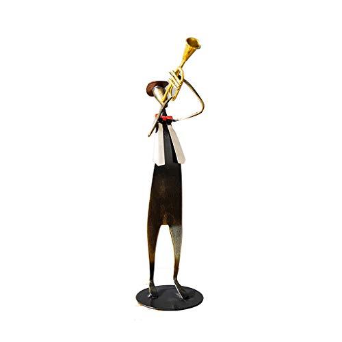 WSY Dekoration Fernsehmöbel kleine Ornamente Hauptdekorationen Wohnzimmer Skulptur Kunsthandwerk (Color : Black, Size :...