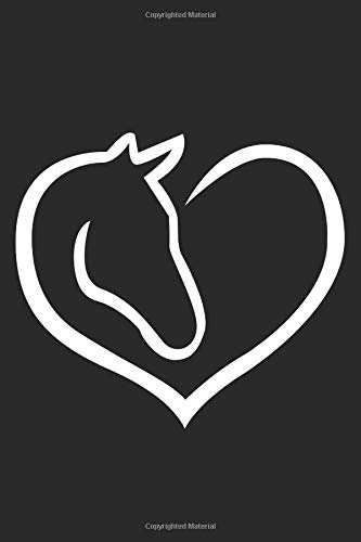 I Love Horses Journal: A 6x9 Inch Blank Lined Journal for Horse Lovers Who Love to Laugh, Makes A Perfect Gag Gift -