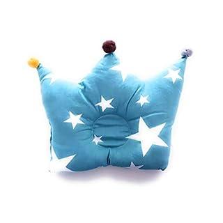 Baby Pillow - Blue - Flat Head Pillow