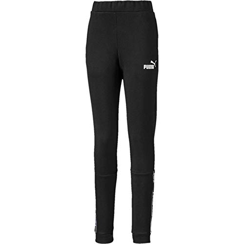 PUMA Mädchen Amplified Pants FL G Jogginghose, Black, 104