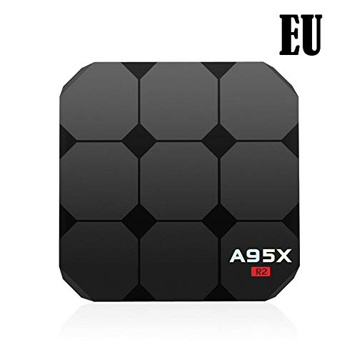 Lâ Vestmon TV Box Android 7.1 2GB+16GB A95X R2 4K Network Player TV Box S905W Top Box Set mit WiFi