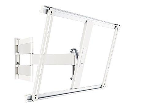 Vogel's THIN 545 TV-Wandhalterung für 102-165 cm (40-65 Zoll) Fernseher, schwenkbar und neigbar, max. 25 kg, Vesa max. 600 x 400, Weiß