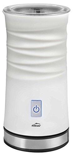 Lacor 69396 - Espumador de leche, eléctrico, 3 en 1 de 500 W, blanco