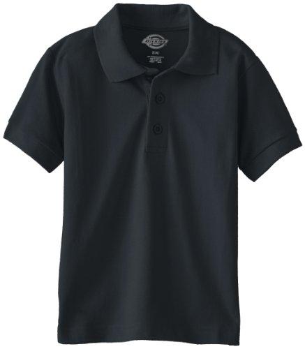 Dickies - - KS4552 Kinder Größe Kurzarm Pique Polo Shirt, X-Large, Dark Navy (Shirt Dickies-kurzarm Polo)