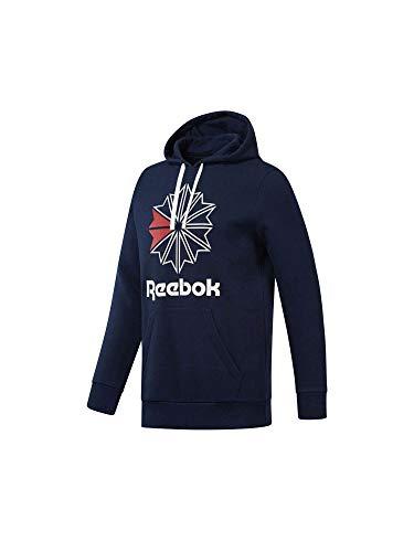Reebok Herren F Star Hoody Leggings, Mehrfarbig (Maruni/Blanco), L (Reebok Sweatshirt)