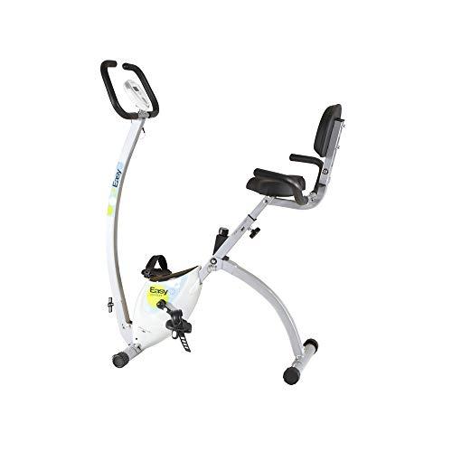 BH Fitness EasyC Confort YFAX92 klappbarer Heimtrainer, Doppel-Übertragungssystem, Magnetisches Bremssytem, Informativer Monitor,  mit Transporträdern preisvergleich