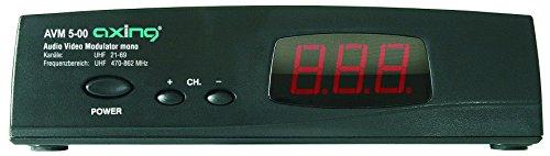 Video-modulator (Axing AVM 5-00 Audio-Video (mono) Modulator UHF mit LED-Display)