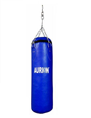 Aurion SRF24UNFILLED Punching Bag, 2ft (Red/Blue)