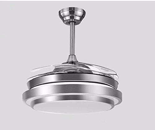 XI Guo Accueil Hôtel Décoration Lumières, Ventilateur De Plafond avec Lampe Gradateur De Lampe avec LED Décor À La Maison Élégant Minimaliste Diamètre 90Cm Gzlight 3fcaf6