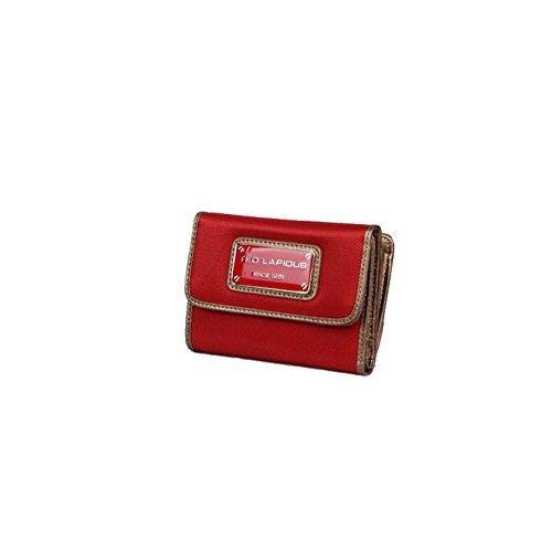 Porte monnaie toile Ted Lapidus Tonic TL NY42002 - Rouge