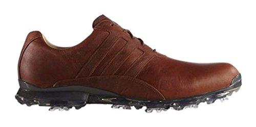 adidas Adipure Classic–Scarpe da Golf per Uomo Marrone