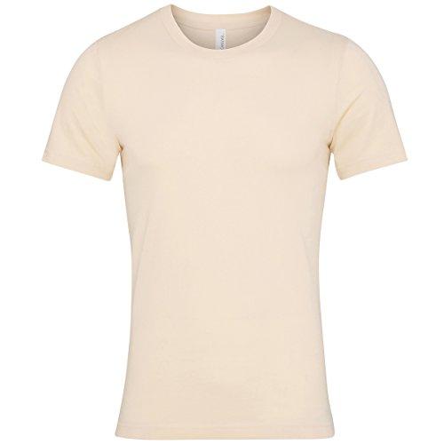 Bella+Canvas Jersey Crew Neck t-Shirt Soft Cream XL (Belle Jersey-t-shirt)