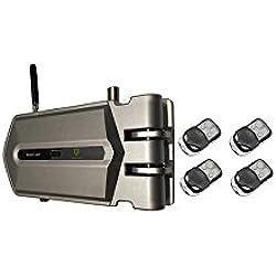 Cerradura Invisible con 4 mandos incopiables, El mejor método de disuasión.