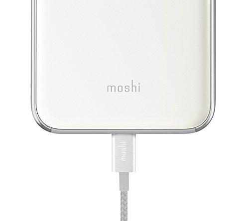Moshi 99mo090101iGlaze Coque pour iPhone 8Plus/7Plus Pearl Blanc