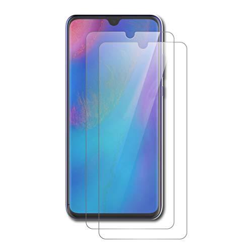 AICEK [Pack 2] Película Protetora Huawei P30 Lite, Protetor de Ecrã Huawei P30 Lite Película Protetora de Vidro Temperado para Huawei P30 Lite Transparência de Vidro (6.0 Inches)