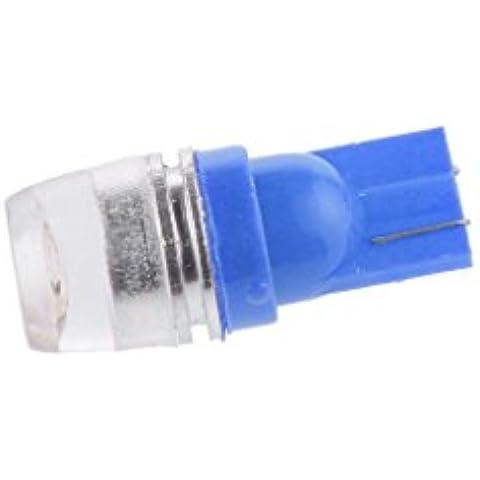 5pcs T10 Cuña Coche 1.5W Poder Más Elevado Bombillas Luz de Xenón 192 168 194 - Azul