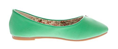 Mädchen Ballerina Zierstecker Kinder Schuhe Slipper Glitzer Steine Sandaletten Gr. 28-35 Türkis