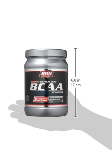 BBN Hardcore BCAA Black Bol Powder, 450 g Dose, Blood orange - 6