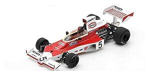 SPARK S7147 - Coche en Miniatura de colección, Color Rojo y Blanco
