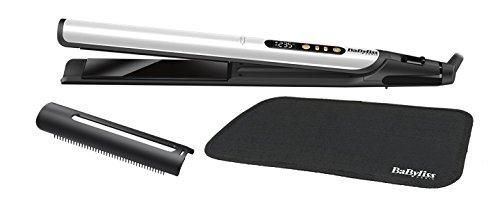 BaByliss - ST455E - Sensitive Lisseur Intense Protection Plaques S/6 Températures/Ecran LCD/Tapis 28 x 120 mm - Gris