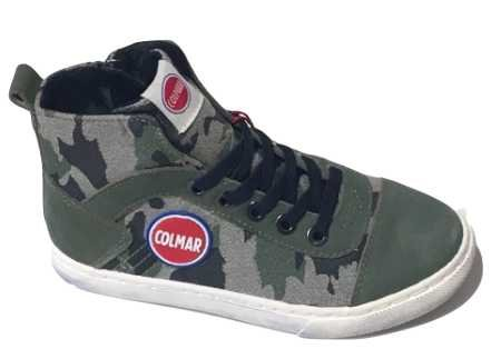 Colmar Scarpe Sneaker Militare Bambino Ragazzo Durden Camu Y33 c38cfcb06db