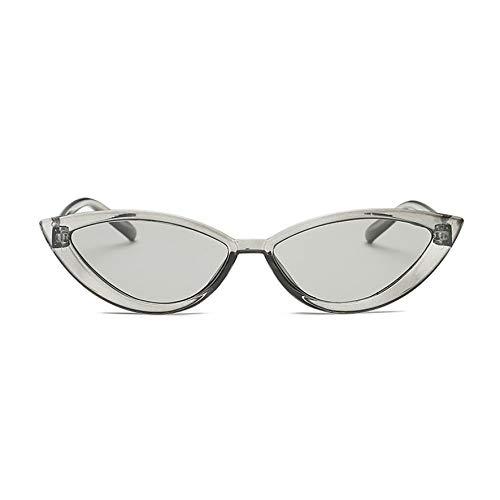 8Eninine Uv400 Frauen Männer Flache Sonnenbrille Brillen Street Casual Sonnenbrille Grau