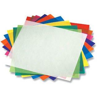 Faltblätter Transparentpapier, 15x15 cm, 500 Stück, - CFO825-1515