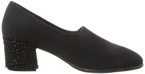 NR RAPISARDI Damen F900 Pumps Schwarz (Black Santos/Fashion Lurex)