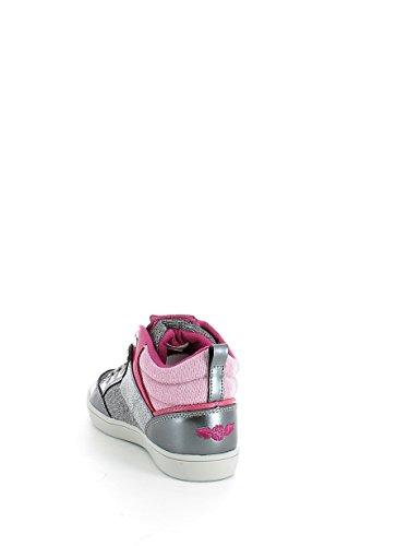 Lelly Kelly LK6404 Sneaker für Mädchen, mit Eulenmotiv, Blau Grau