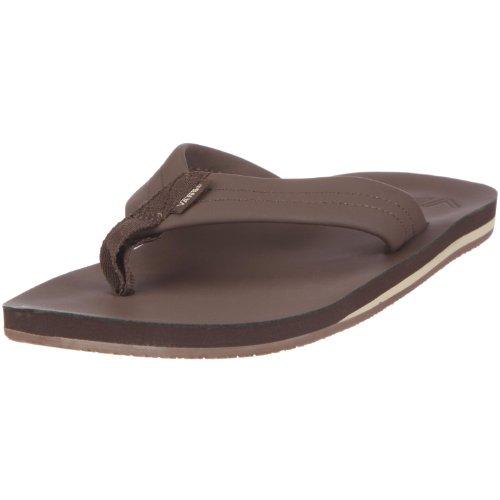 Vans M Santa Rosa SE VLFPESP - Sandalias de Cuero para Hombre, Color marrón, Talla 40.5